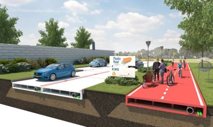 The Netherlands Will Become the First Country to Pave Its Roads with Recycled Plastic